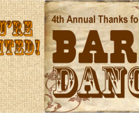 2013 Thanks for Giving Barn Dance
