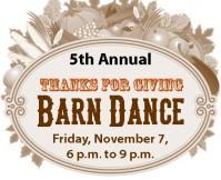 2014 Thanks for Giving Barn Dance