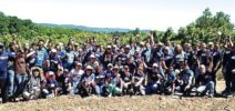 Prudential and Bloomberg volunteer at America's Grow-A-Row