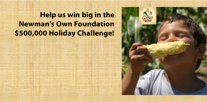 Newman's Own Foundation Holiday Challenge
